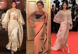 cape designs 7 unique sarees you can wear on your cocktail bling sparkle