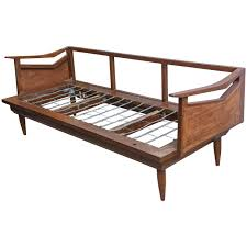Wood Day Bed Andrianna Shamaris Modern Teak Wood Day Bed For Sale At 1stdibs