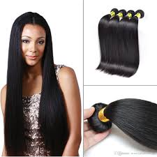 Where To Buy Wholesale Hair Extensions by Cheap Wholesale Straight Human Hair Wefts Bundles Brazilian