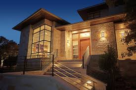 Contemporary Handrails Designs Ideas Stunning Home Architecture With Natural Wall And