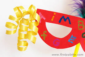 curly ribbon curly ribbons kids crafts how to s firstpalette