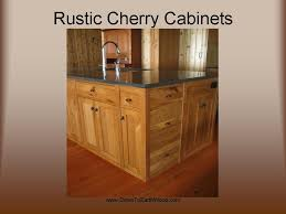 KitchenBath Cabinetry - Rustic cherry kitchen cabinets