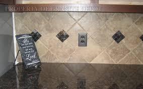 Brown Tile Backsplash by What Color Tile Back Splashes Go With Brown Carmel Granite