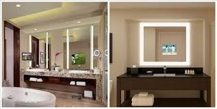 tv lighted mirrors waterproof tv for bathroom mirror tv bathroom