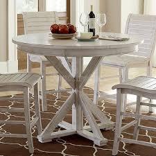 progressive furniture willow counter height dining table willow round counter height table distressed white counter