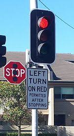 What Does A Flashing Red Light Mean Turn On Red Wikipedia