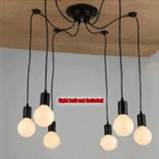Diy Ceiling Light by Vintage Multiple Ajustable Diy Ceiling Spider Lamp Light Pendant