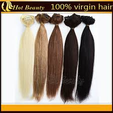 real hair extensions black 100 human european real hair clip in hair