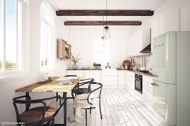 swedish kitchen on behance