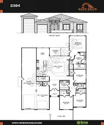 Floor Plan Front View by Modern Home Designs New Home Builders Dixie Springs