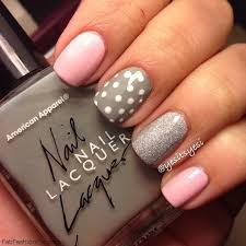 Ideas For Black Pink And Best 25 Pink Grey Nails Ideas On Pinterest Matt Nails Lady