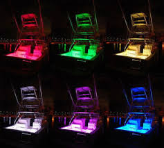8pc boat led interior marine deck neon lights pod kit for all