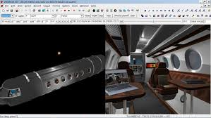 Private Jet Interiors 3d Creation Made Easy Private Jet Interior Youtube