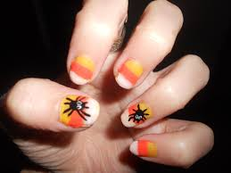 halloween nail art glitz glamour and girlie nails galore