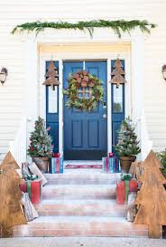 front porch christmas decorations awesome diy front porch christmas decor a wooden for of