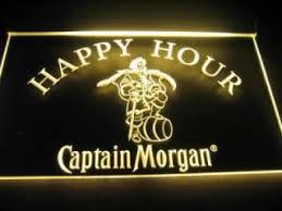 captain morgan neon bar light vintage 50s old new york knickerbocker beer motion light sign antique