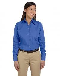 van heusen 13v0114 dress shirt women u0027s long sleeve solid silky