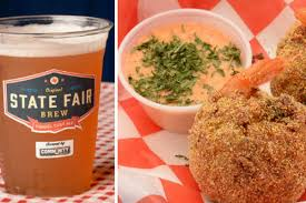 fried shrimp boil and funnel cake beer nab state fair of texas