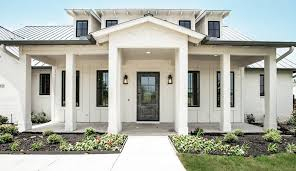 Black Trim Windows Decor Ballet Decorating Ideas Exterior Farmhouse With Board And Batten