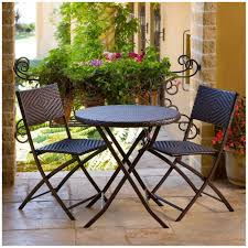 Round Patio Chairs Cafe Patio Furniture