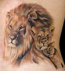 30 amazing lion and cub tattoo ideas