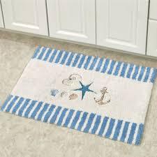 Contemporary Bathroom Rugs Nautical Bathroom Rugs Streamrr Com