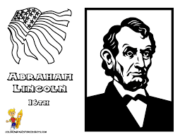 lincoln coloring pages fierce presidents coloring pages free presidents day coloring