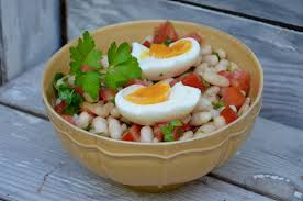 comment cuisiner des haricots blancs salade de haricots blancs à la turque la p tite cuisine de pauline