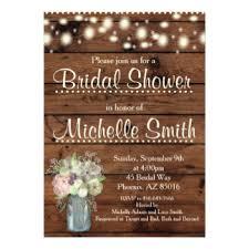 Inexpensive Bridal Shower Invitations Rustic Bridal Shower Invitations U0026 Announcements Zazzle
