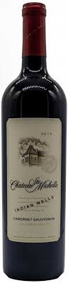 chateau ste 2010 indian cabernet united states wines
