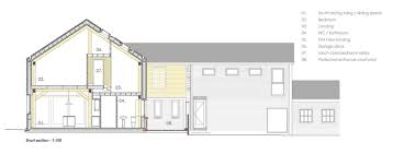 Timber Floor Plan by Gallery Of Timber Frame House A Zero Architects 11