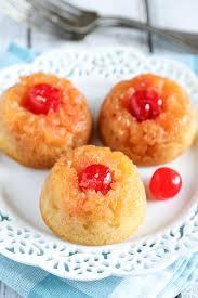 mini pineapple upside down cakes live well bake often