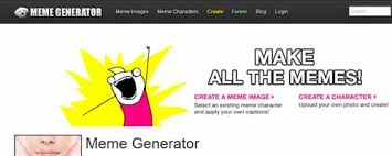 Make A Meme Online With Your Own Picture - 5 free online meme generator websites