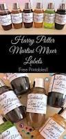 martini mixer harry potter martini mixer labels u2014 wine u0026 sprinkles