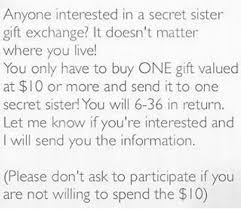 read this before you participate in the u0027secret sister u0027 gift