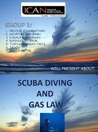scuba diving and gas law scuba diving gases