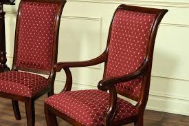 Nailhead Arm Chair Design Ideas Dining Chairs Reupholstering Dining Room Chairs Ideas