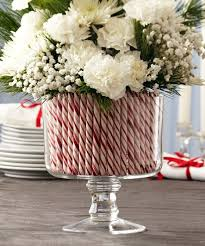 Candy Vases Centerpieces 38 Candy Cane Inspired Christmas Decorations U2013 Sortra