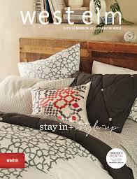 west elm australia winter catalogue 2015 by williams sonoma