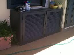 armadio da esterno in alluminio mobili coprimotore esterno dei condizionatori alfa