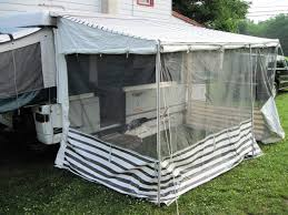 Coleman Porch Awning How To Install A Add A Room On A Pop Up Pop Up Camper