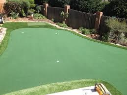 nc putting green backyard tour links