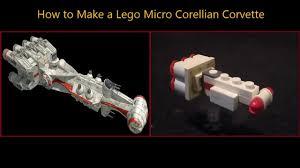 wars corellian corvette how to a lego mini corellian corvette