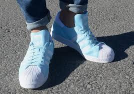 adidas superstar light blue adidas superstar primeknit ice green s74964 sneakernews com