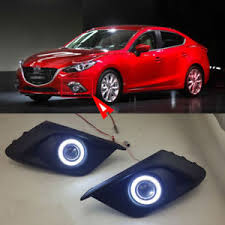 2016 mazda 3 fog light kit for mazda 3 axela 2014 2016 fog light l kit cob angel eye
