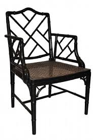 chinese chippendale chairs of black lacquered chinese chippendale arm chairs