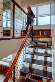 oltre 25 fantastiche idee su wood handrail su pinterest
