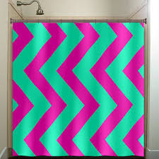 Pink Black And White Shower Curtain Shop Bathroom Rugs And Shower Curtains On Wanelo