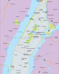 New York Sightseeing Map by Cool New York Tourist Attractions Map 38 Lower Manhattan Key Bus