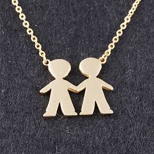 s day jewelry for friendship bijoux s day 2 boys best friend necklace